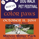 Color Paws Dog Walk & Pet Festival!